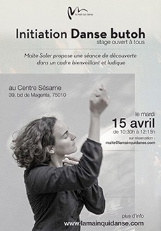 15 avril. Stage d'initiation à la danse Butoh