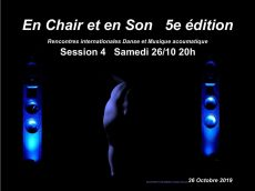 Festival en Chair et en Son Octobre 2019
